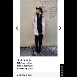 Lulus Tea Reader Black Sweater Dress